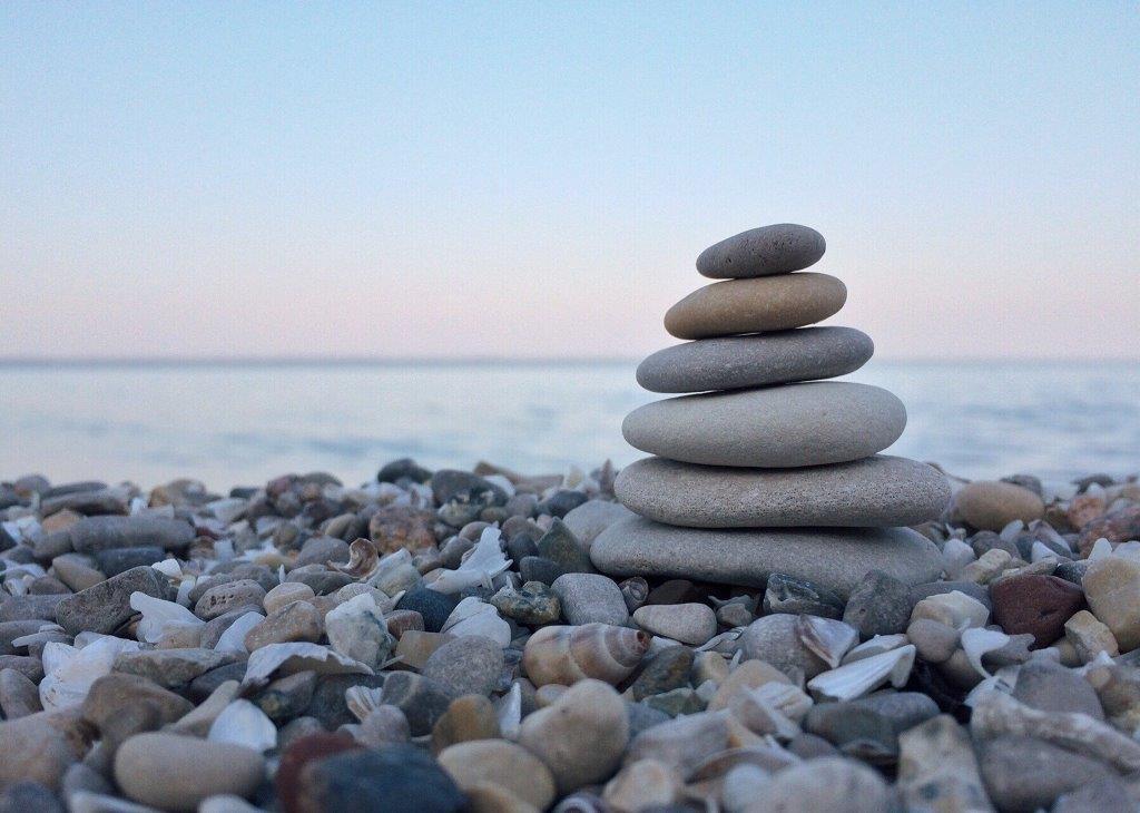 Grenzen stellen Balans