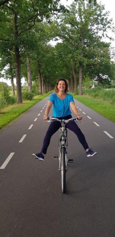 fiets balans beweging ellmoves