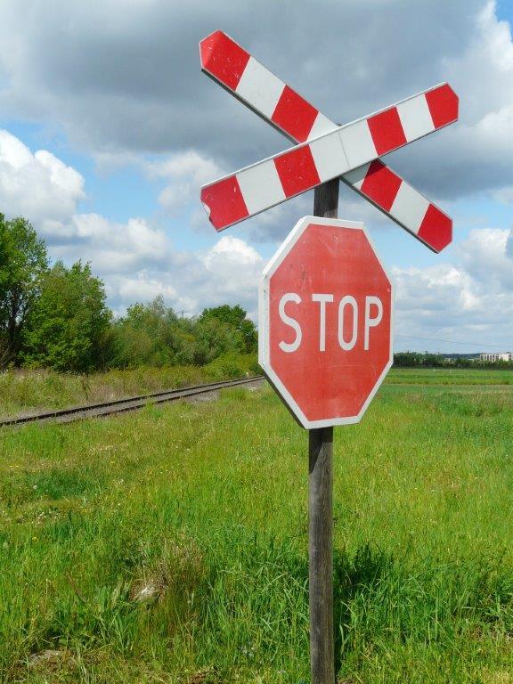 Spoorwegovergang gevaarlijk overwin je angst